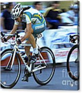 Criterium Bicycle Race 3 Acrylic Print