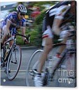 Criterium Bicycle Race 4 Acrylic Print