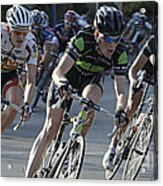 Criterium Bicycle Race 6 Acrylic Print