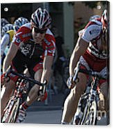 Criterium Bicycle Race 7 Acrylic Print
