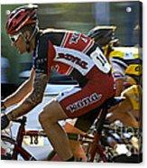 Criterium Bicycle Race1 Acrylic Print
