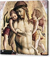 Crivelli: Pieta Acrylic Print