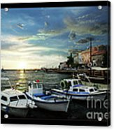 Croatia Istrien Acrylic Print