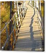 Crooked Bridge Acrylic Print