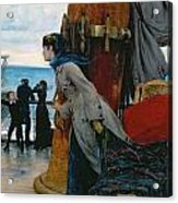 Cross Atlantic Voyage Acrylic Print by Henry Bacon