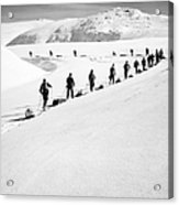 Cross Country Skiing Acrylic Print