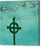 Cross Acrylic Print by Debbie Sikes