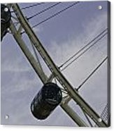Cross Section Of The Singapore Flyer Acrylic Print