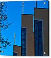 Crosses Of Livingway Church Acrylic Print