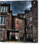 Crownsville Loading Dock Acrylic Print by Heather  Boyd