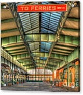 Crrnj Terminal I Acrylic Print