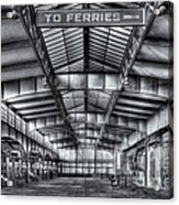Crrnj Terminal V Acrylic Print