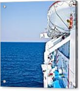Cruise Ship Acrylic Print