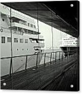Cruise Ships Acrylic Print