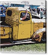 Cruising The Old Chevy Acrylic Print by Steve McKinzie