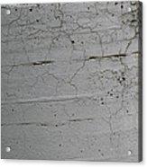 Crumbling Concrete Acrylic Print