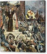 Crusades: Peter The Hermit Acrylic Print