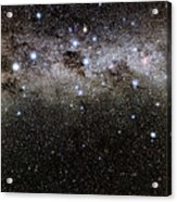 Crux And The Southern Celestial Pole Acrylic Print