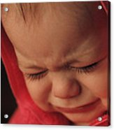 Crying Baby Acrylic Print by John Wong