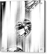 Crystal Abstract  Acrylic Print