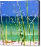 Crystal Beach Acrylic Print