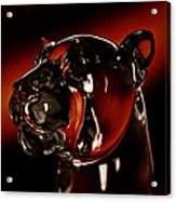 Crystal Cougar Head II Acrylic Print