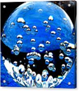 Crystal Drops From A Global View Acrylic Print