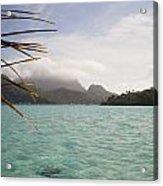 Crystal Island Bora Bora Acrylic Print