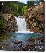 Crystal River Waterfall Acrylic Print
