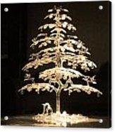 Crystal Tree Acrylic Print