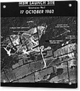 Cuban Missile Crisis, 1962 Acrylic Print