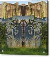 Cube Paintings Acrylic Print