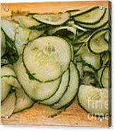 Cucumbers Acrylic Print