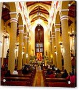 Cuenca Ecuador Church Interior Acrylic Print