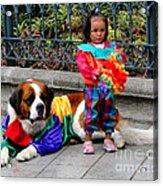 Cuenca Kids 124 Acrylic Print
