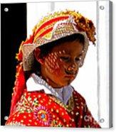 Cuenca Kids 198 Acrylic Print by Al Bourassa