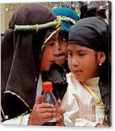 Cuenca Kids 37 Acrylic Print