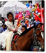 Cuenca Kids 48 Acrylic Print