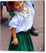 Cuenca Kids 55 Acrylic Print by Al Bourassa