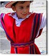 Cuenca Kids 68 Acrylic Print