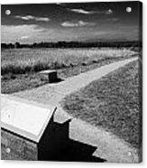 Culloden Moor Battlefield Site Highlands Scotland Acrylic Print by Joe Fox