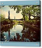 Cummer Pond Zen Acrylic Print