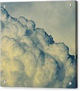 Cumulonimbus Clouds Acrylic Print