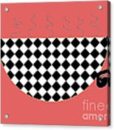 Cup O Joe Acrylic Print by Jeannie Atwater Jordan Allen