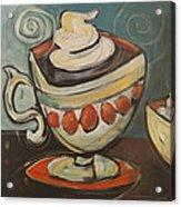 Cup Of Mocha Acrylic Print