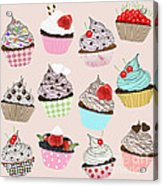 Cupcake  Acrylic Print