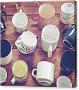 Cups Acrylic Print by Joana Kruse