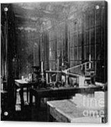 Curie Laboratory Acrylic Print