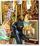 Curious Carousel Beasts Acrylic Print