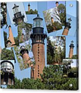 Currituck Beach Light House Station Nc Usa Acrylic Print